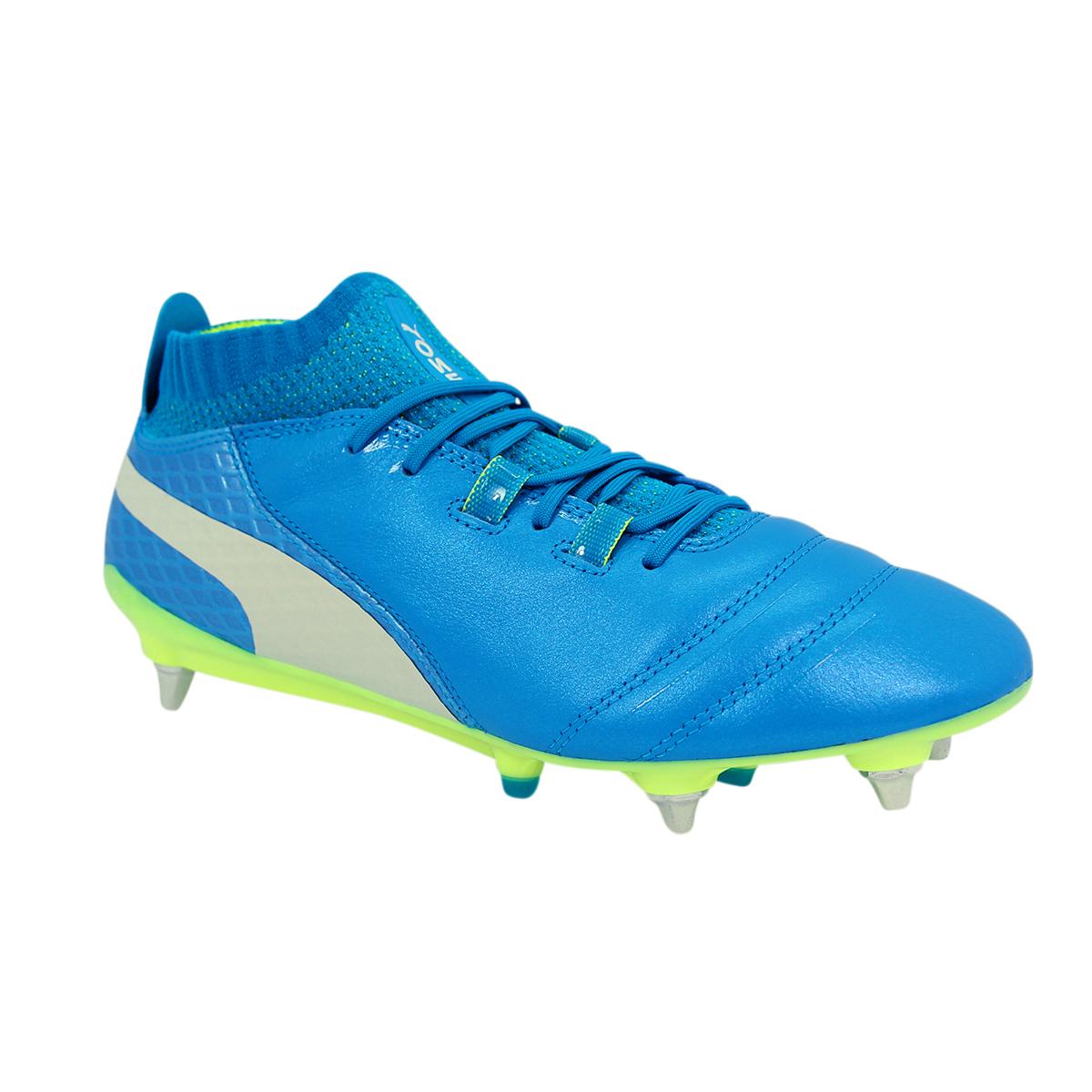 Puma ONE 17 1 MX MX MX SG Herren Leder Football schuhe Neu 967ec5