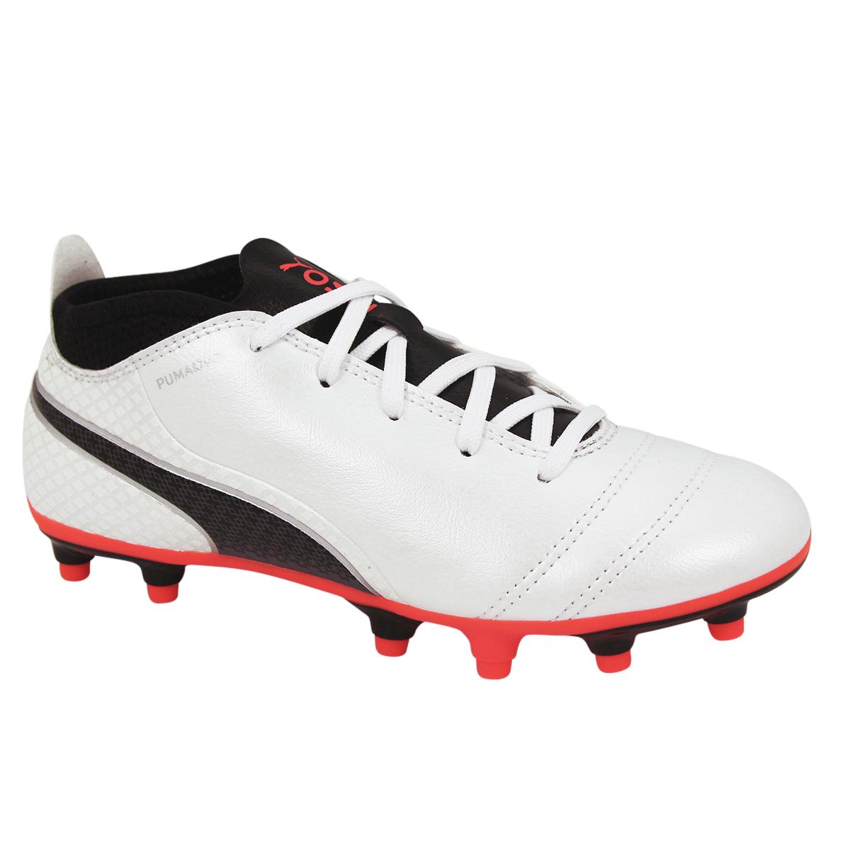 Détails sur Chaussures de football PUMA ONE 17 4 FG JR