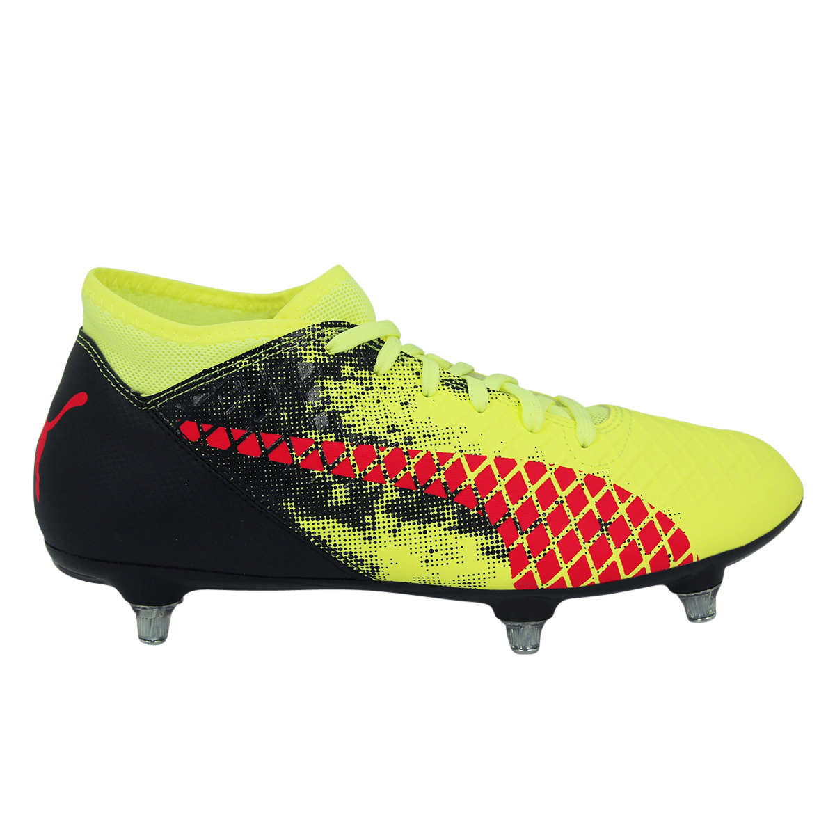 Puma Football Future 19.2 Netfit Chaussures de football pour terrain dur Rouge