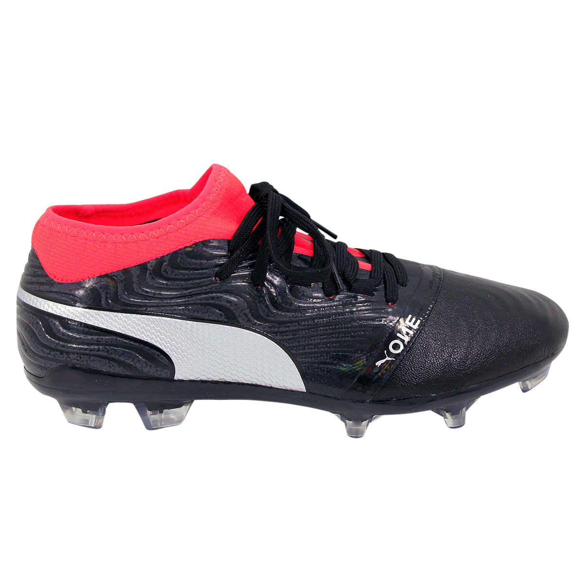 Chaussures Cuir Puma De One 18 Football 2 Fg nwO80Pk