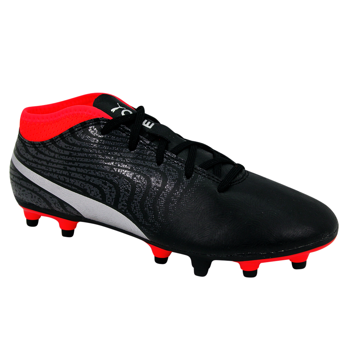 aa412c8c2ff52 Chaussures de football PUMA ONE 18 4 FG JR