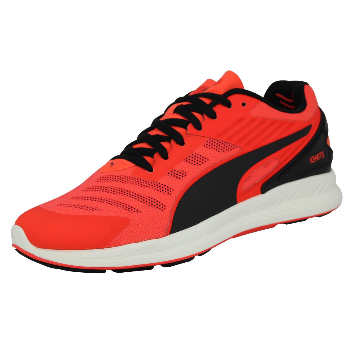 Puma ENCENDER V2 Zapatos Moda Running Hombre Rojo