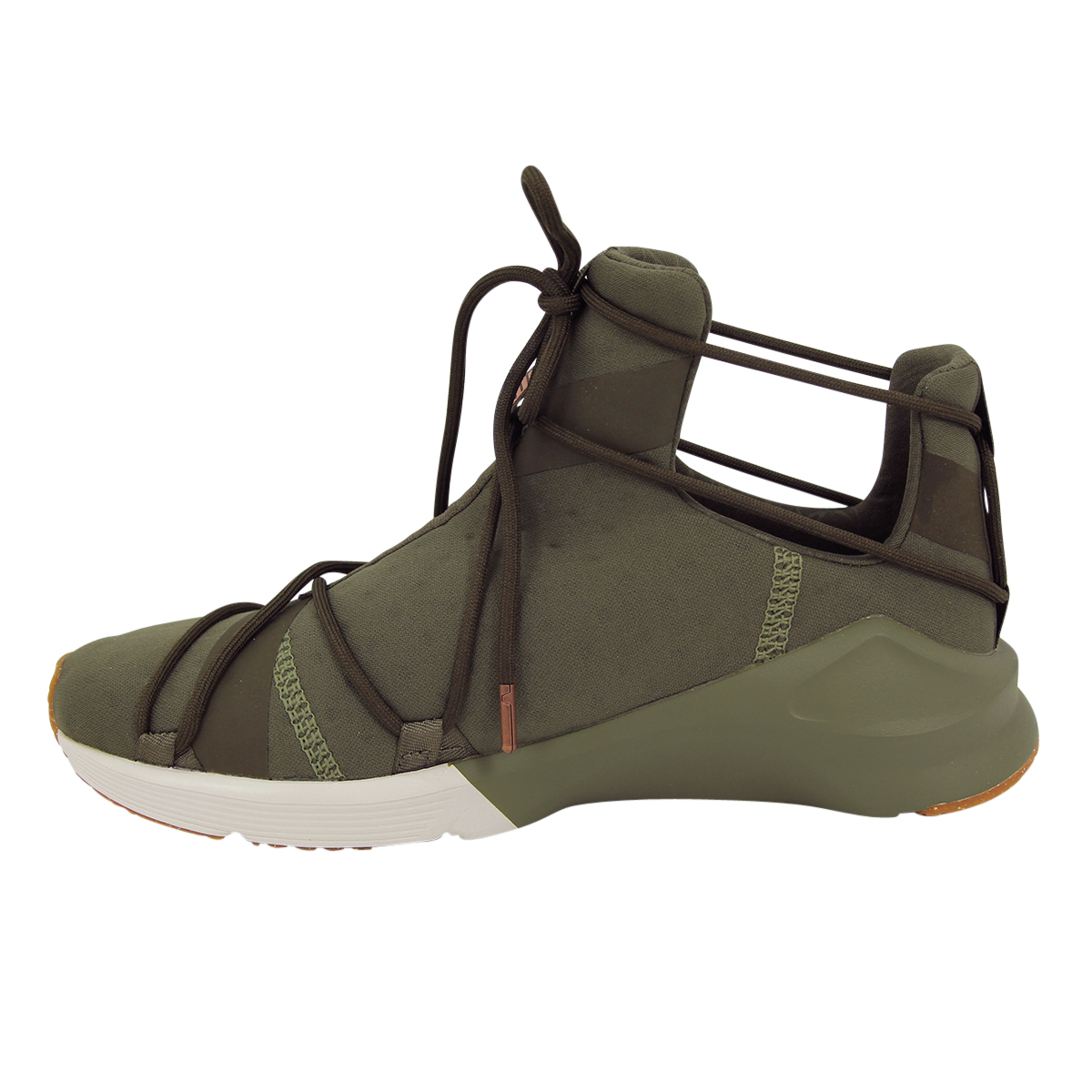 02090c3db62 PUMA Ladies Fierce Rope VR High Shoes Trainers Women Green Olive 7. About  this product. Picture 1 of 12  Picture 2 of 12  Picture 3 of 12 ...