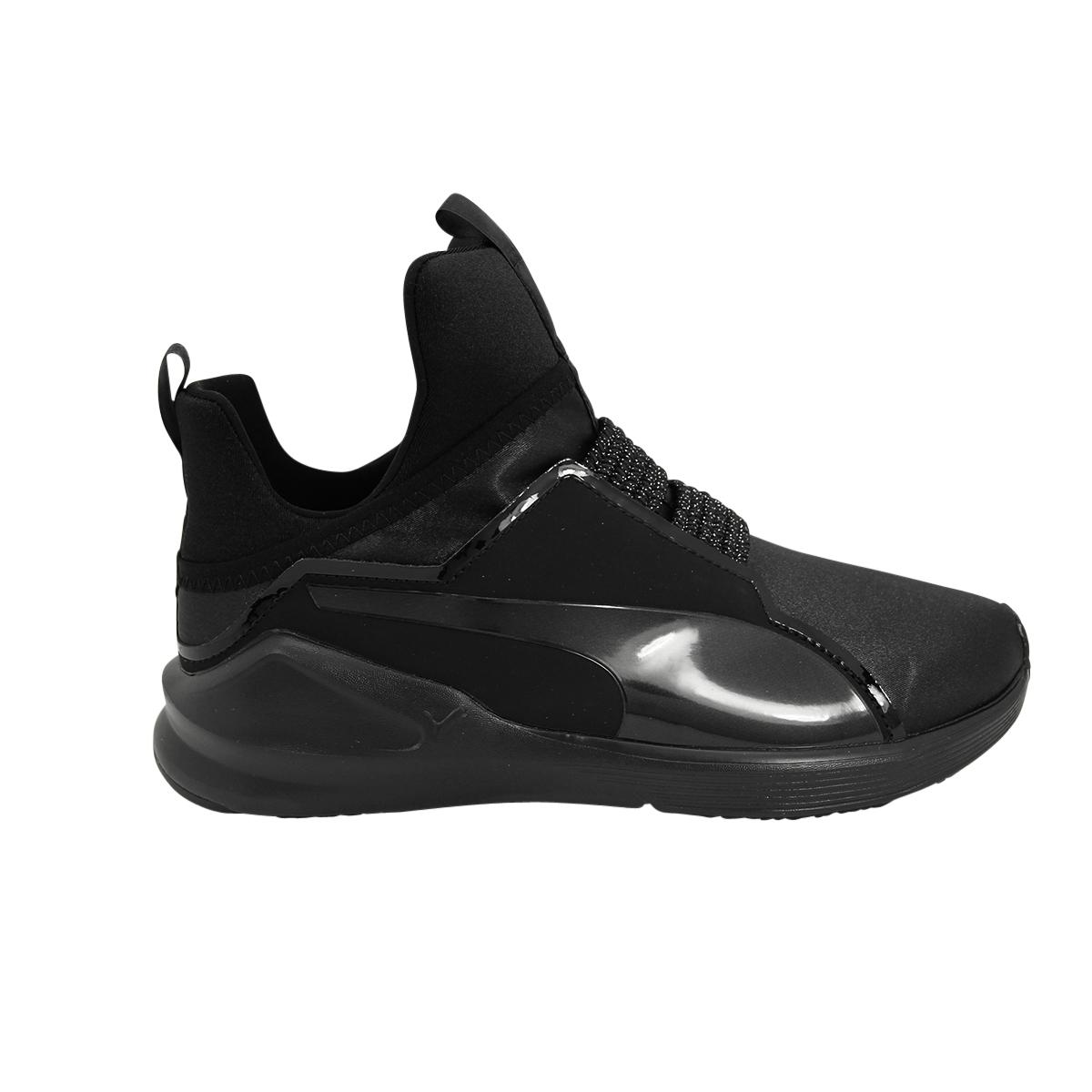 High-top sneakers FIERCE SATIN EP