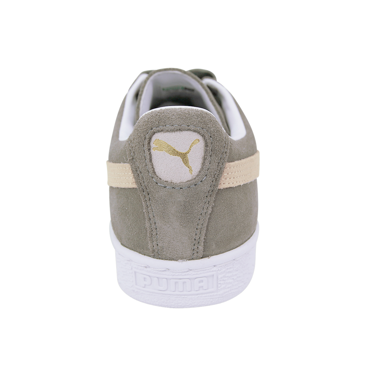 8dd8a21722c PUMA Suede Classic Trainers Mens Womens Shoes Size UK 4-12 Navy Gold ...
