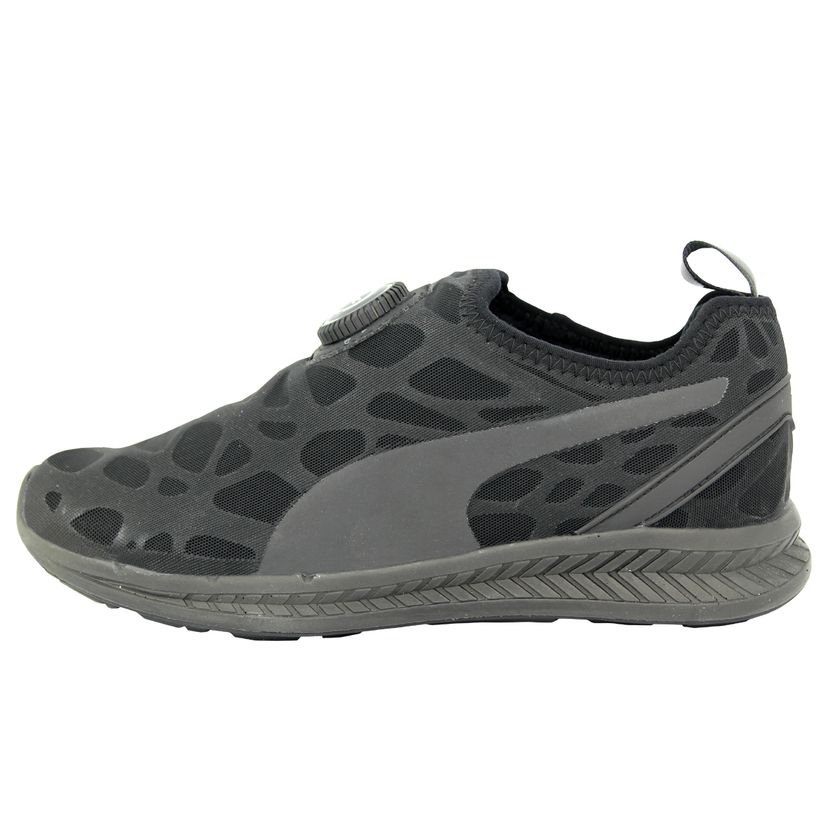 18201e0f1a63 PUMA Ignite Disc Sleeve Street Foam Rihanna Black Mens Running Shoes  360946-01 UK 7. About this product. 4 watching. Picture 1 of 12  Picture 2  of 12 ...