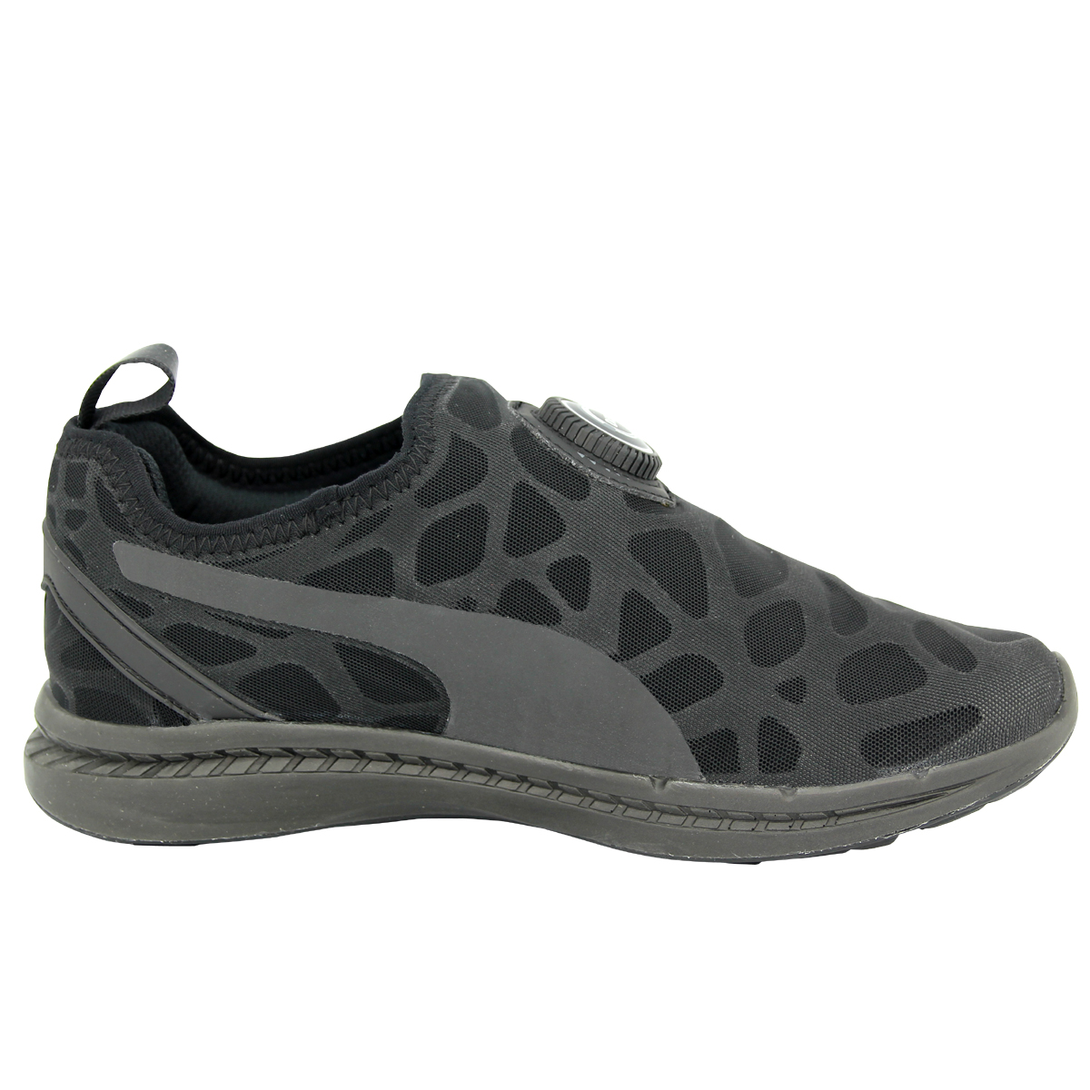 237ed328fdfa PUMA Ignite Disc Sleeve Street Foam Rihanna Black Mens Running Shoes ...
