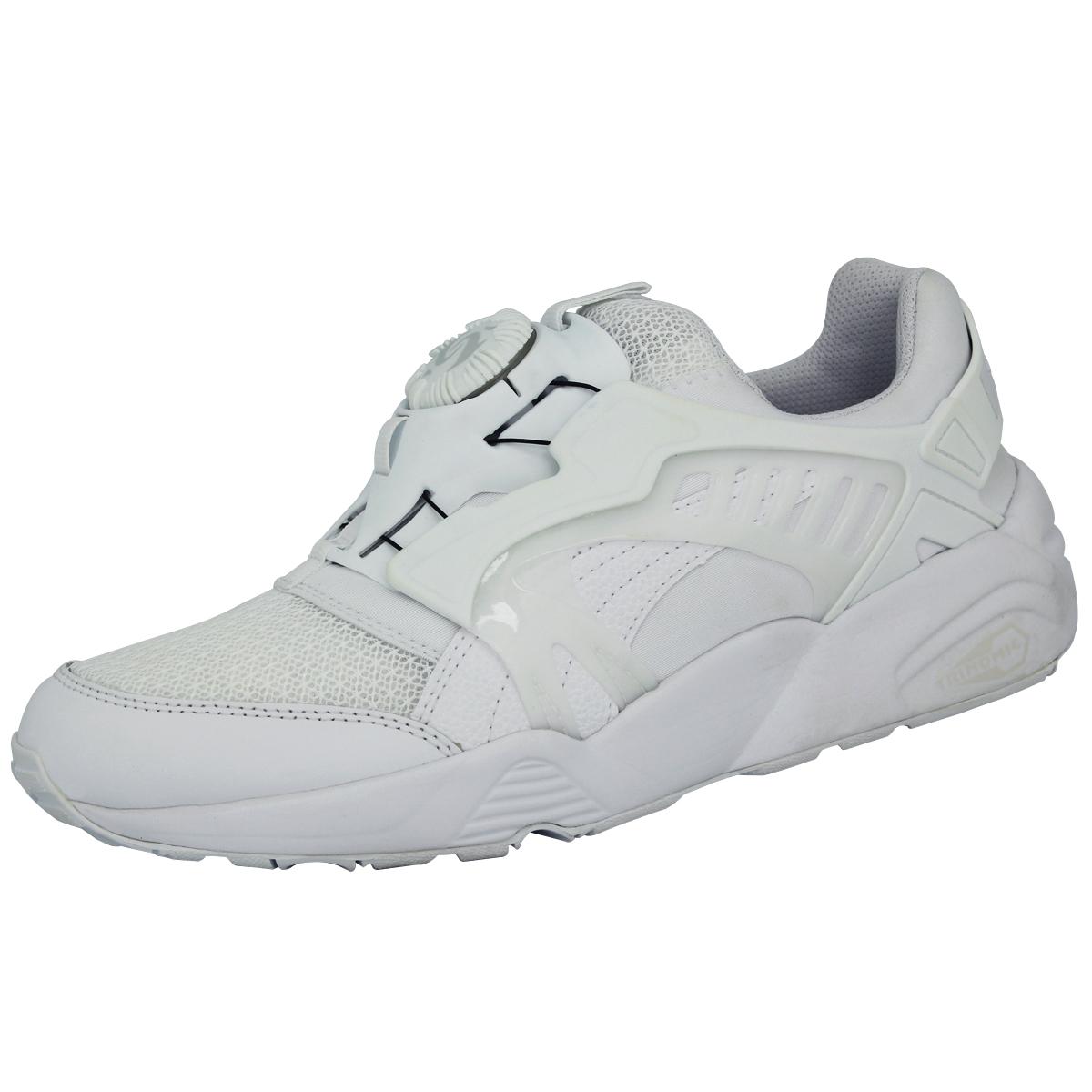 Détails sur Puma DISC BLAZE CT Chaussures Mode Sneakers Homme Blanc