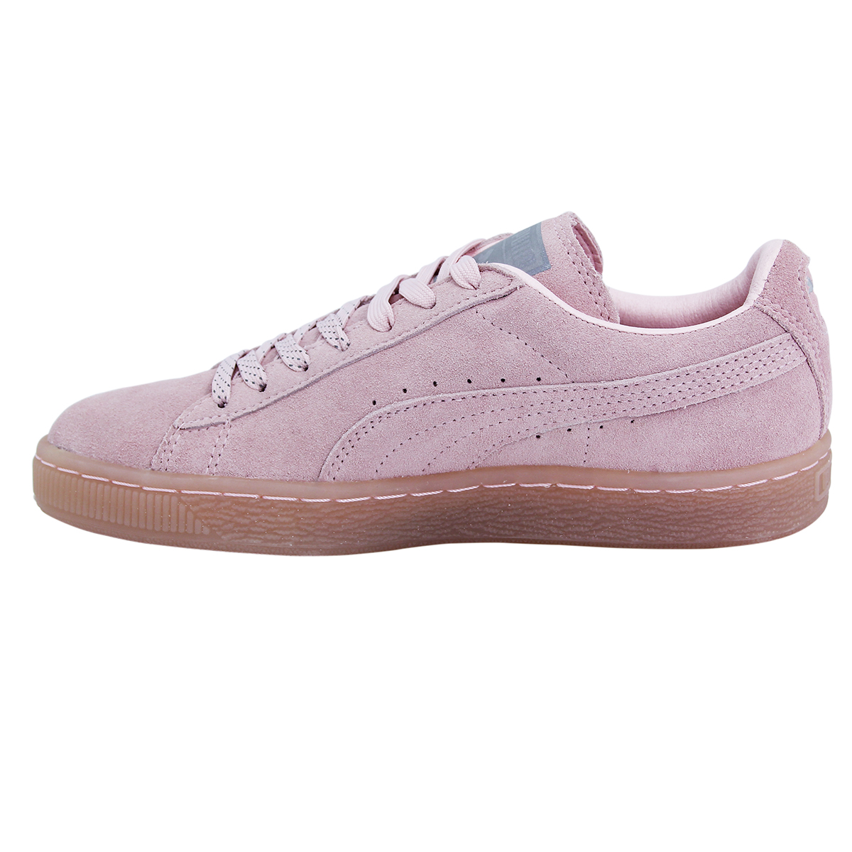 Puma Puma Puma SNA Daim Mono en Cuir et Daim Femmes Baskets Chaussures Ortholite 9c0224