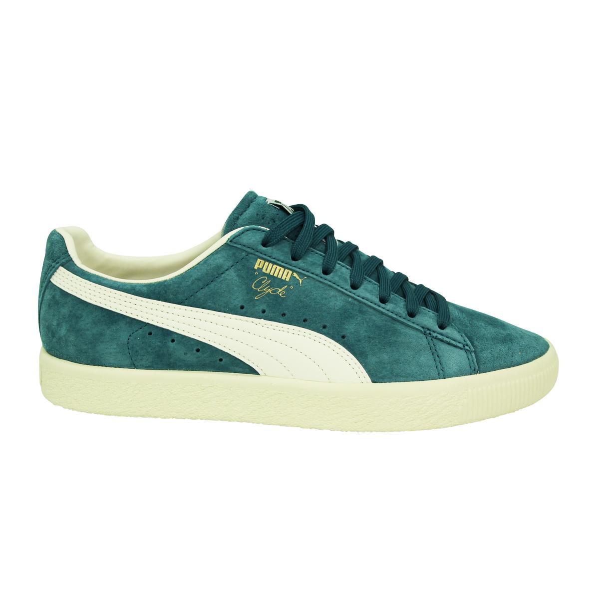 Puma Clyde Suede premium cuero señores zapatillas zapatos nuevo