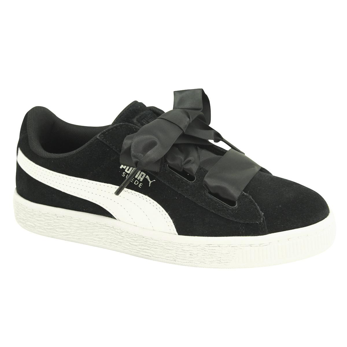 85be202efc3 Chaussures Baskets Puma fille Suede Heart Jewel V PS Taille Noir noire Suède  31. À propos de ce produit. Photo 1 12  Photo 2 12 ...