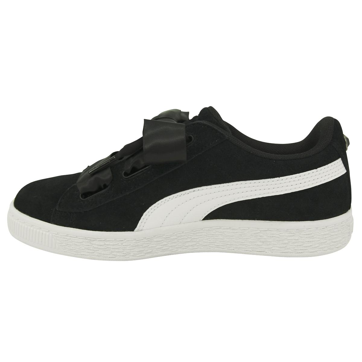 431330953ab Chaussures Baskets Puma fille Suede Heart Jewel V PS Taille Noir noire Suède  31. À propos de ce produit. Photo 1 12  Photo 2 12  Photo 3 12 ...
