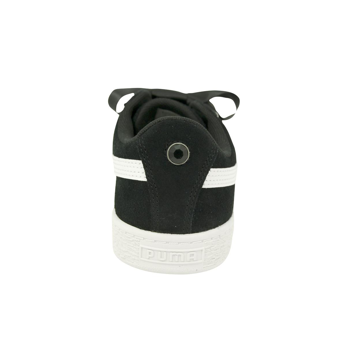 fb9a04ce108 Chaussures Baskets Puma fille Suede Heart Jewel V PS Taille Noir noire Suède  31. À propos de ce produit. Photo 1 12  Photo 2 12  Photo 3 12  Photo 4 12