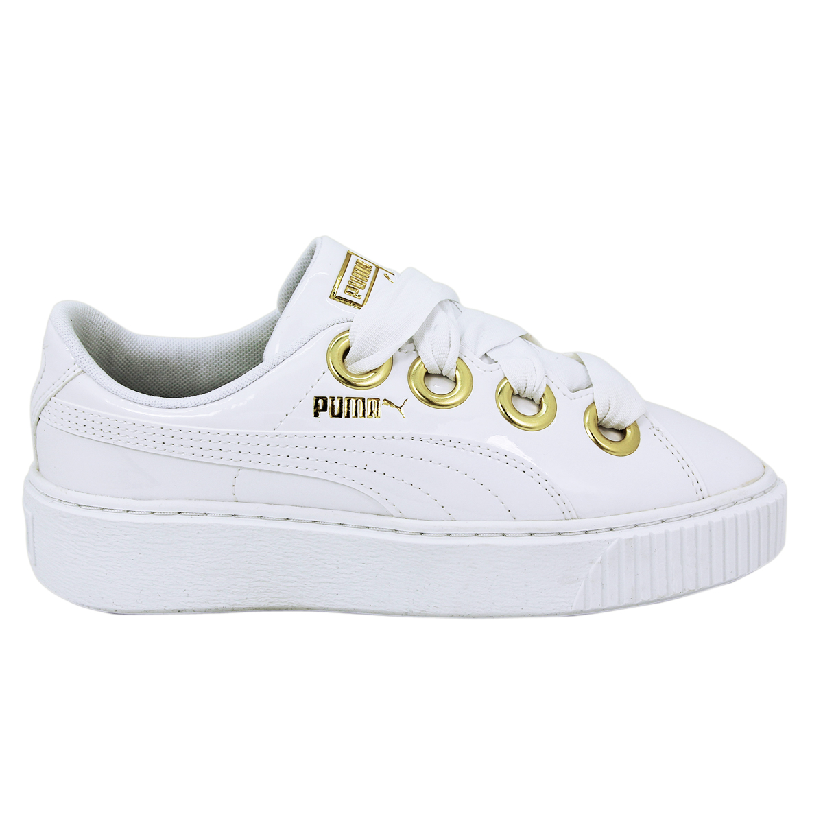 Details zu Puma PLATFORM KISS PATENT WN S Damen Sneakers Schuhe Neu