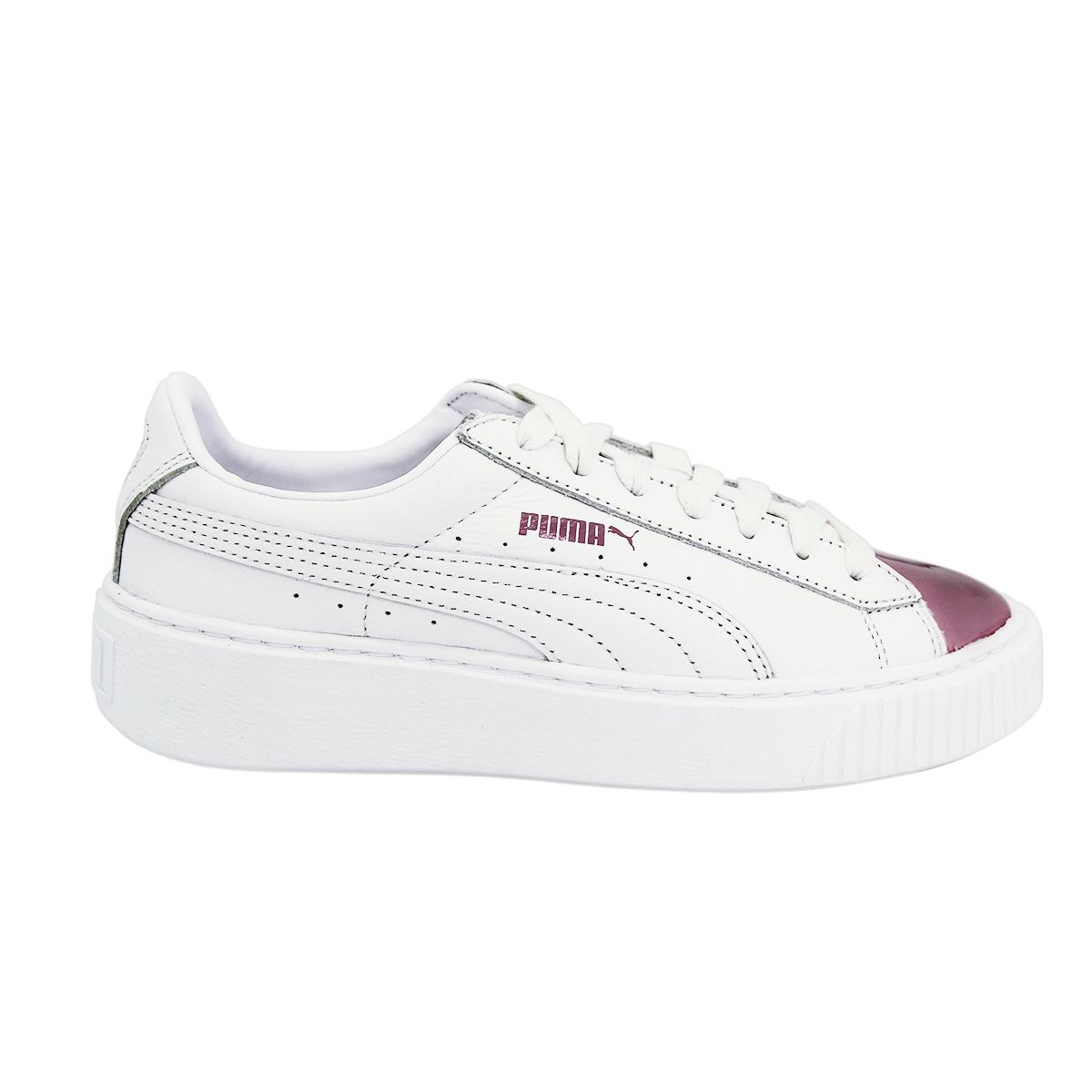 PUMA Basket Platform Metallic Damen Sneaker 38.5 EU