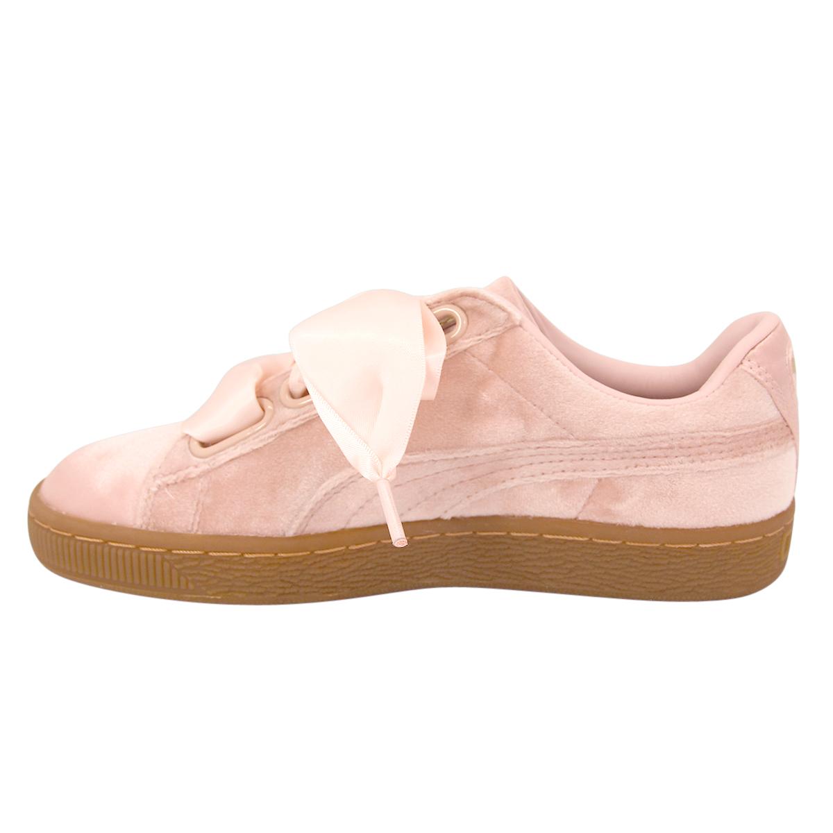 Damen PUMA Neu VELVET HEART Schuhe Sneakers BASKET W l1JcTF53Ku