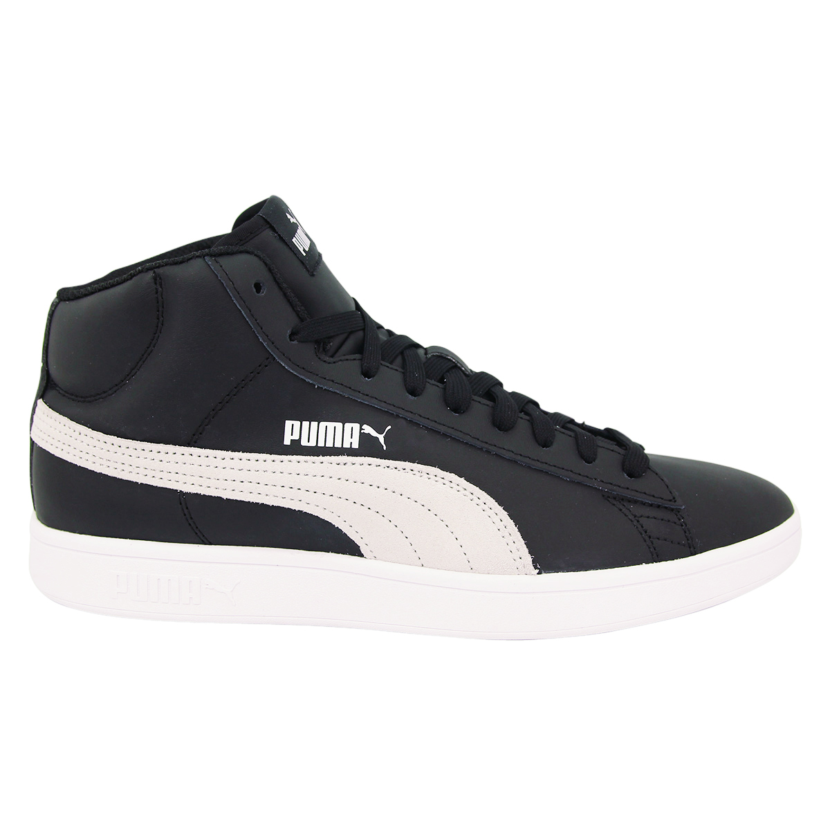 BASKETS BASSES SYNTHÉTIQUE SMASH V2 MID L HIGH ANKLE PUMA