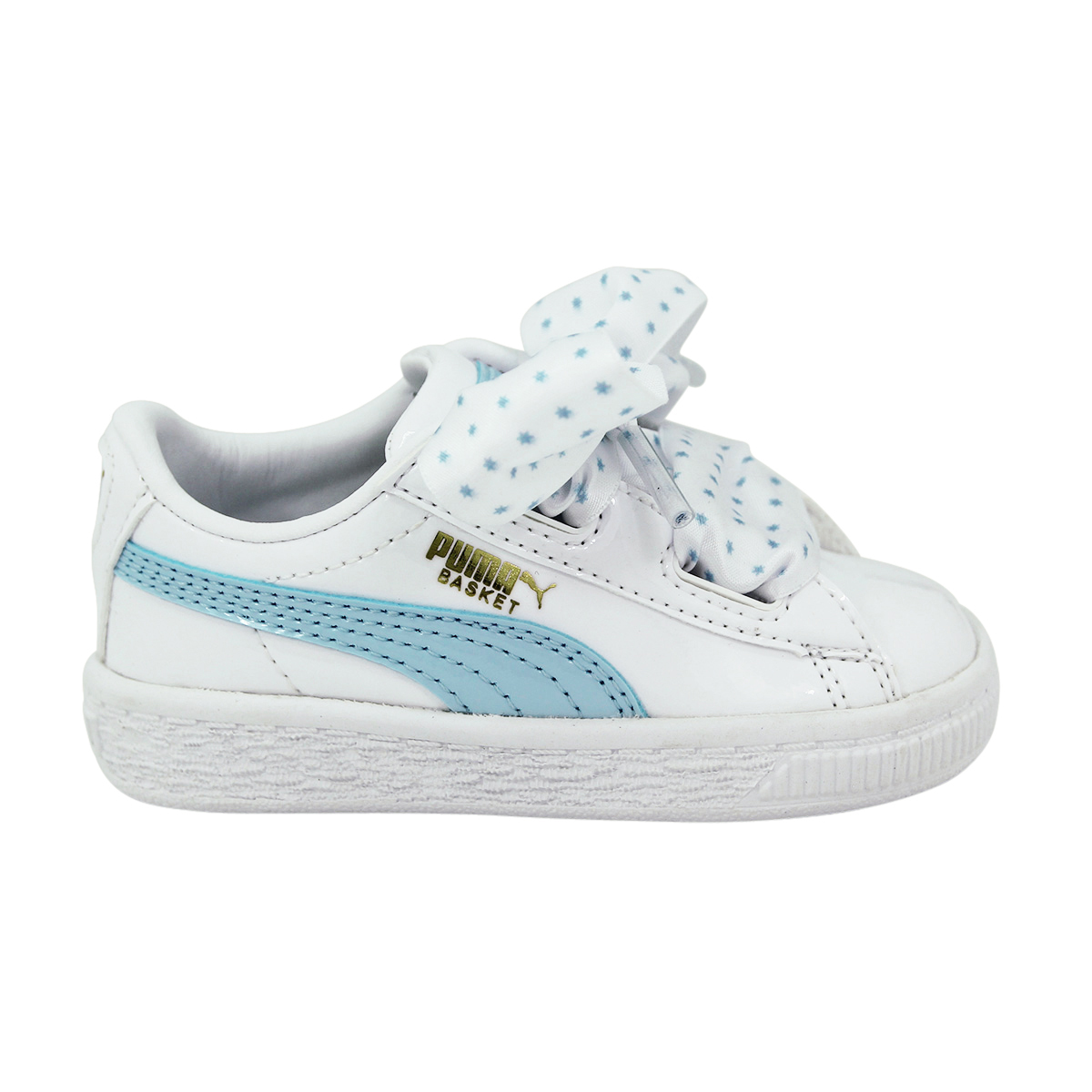 günstiger Preis Discounter verschiedene Stile Details about Puma Basket Heart Stars Inf Children Girl Sneakers Shoes New-  show original title