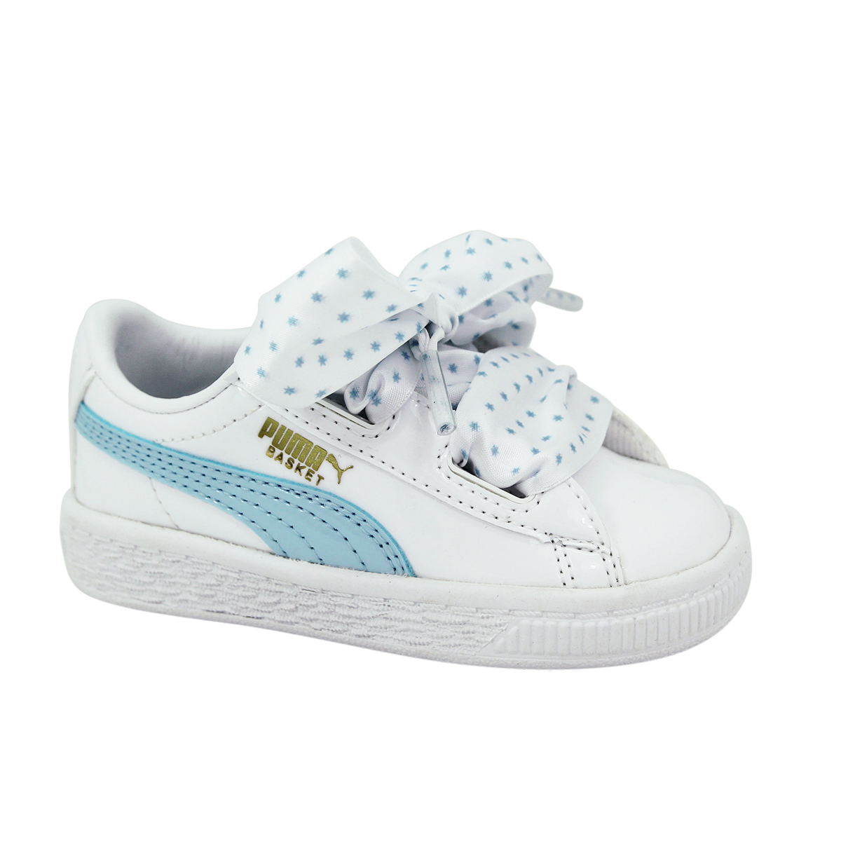 Details about Puma Basket Heart Stars Inf Children Girl Sneakers Shoes New show original title