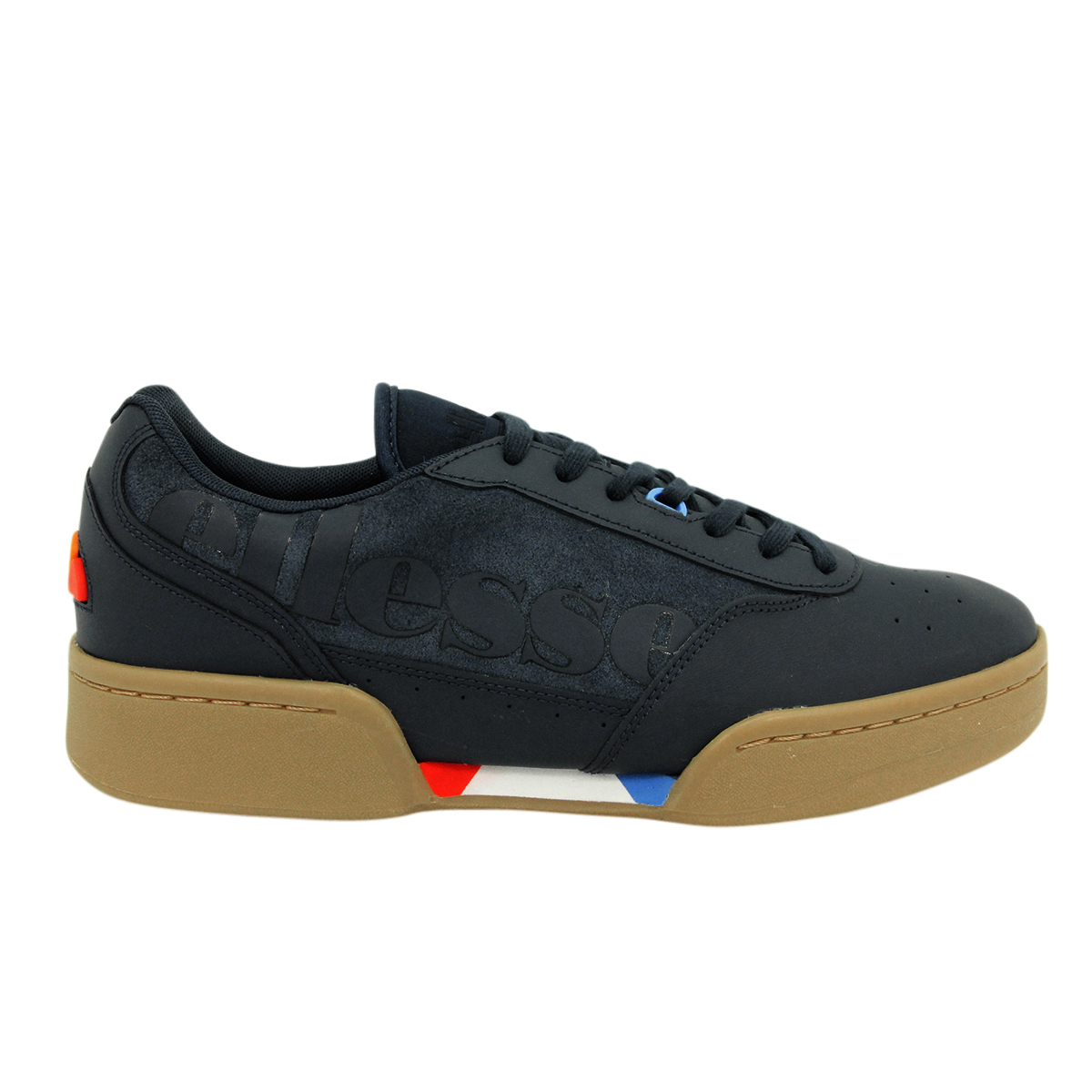 Ellesse Piacentino Cuir Hommes Baskets Chaussures NEUF