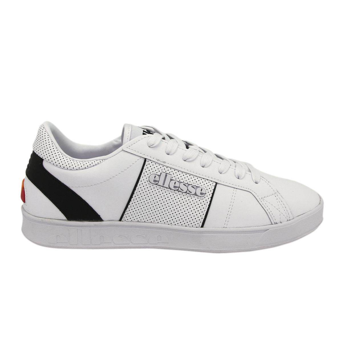 Ellesse ls-80 Cuir Hommes Baskets Chaussures NEUF