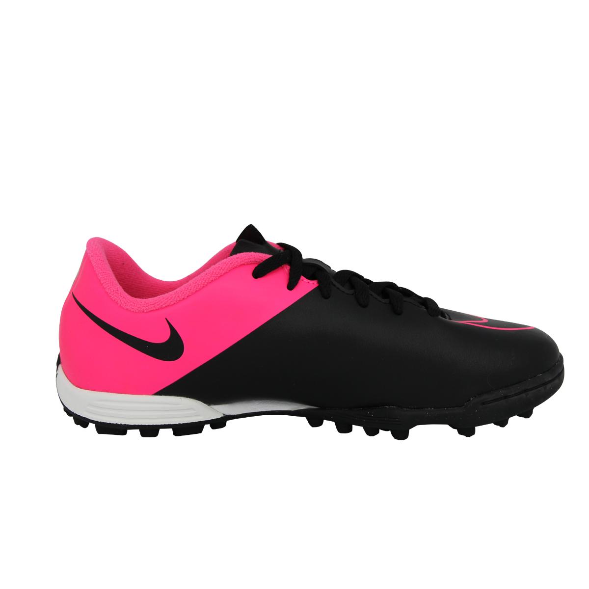 2 sur 6 Nike JR MERCURIAL VORTEX II TF Chaussures de Football Fille Enfant  Noir Rose 10b3ac85e5c2