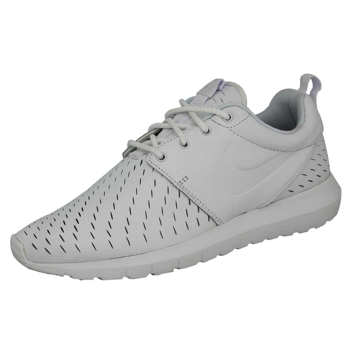 Nike ROSHE NM LSR Scarpe Moda Scarpe sportive Uomo Pelle Bianca
