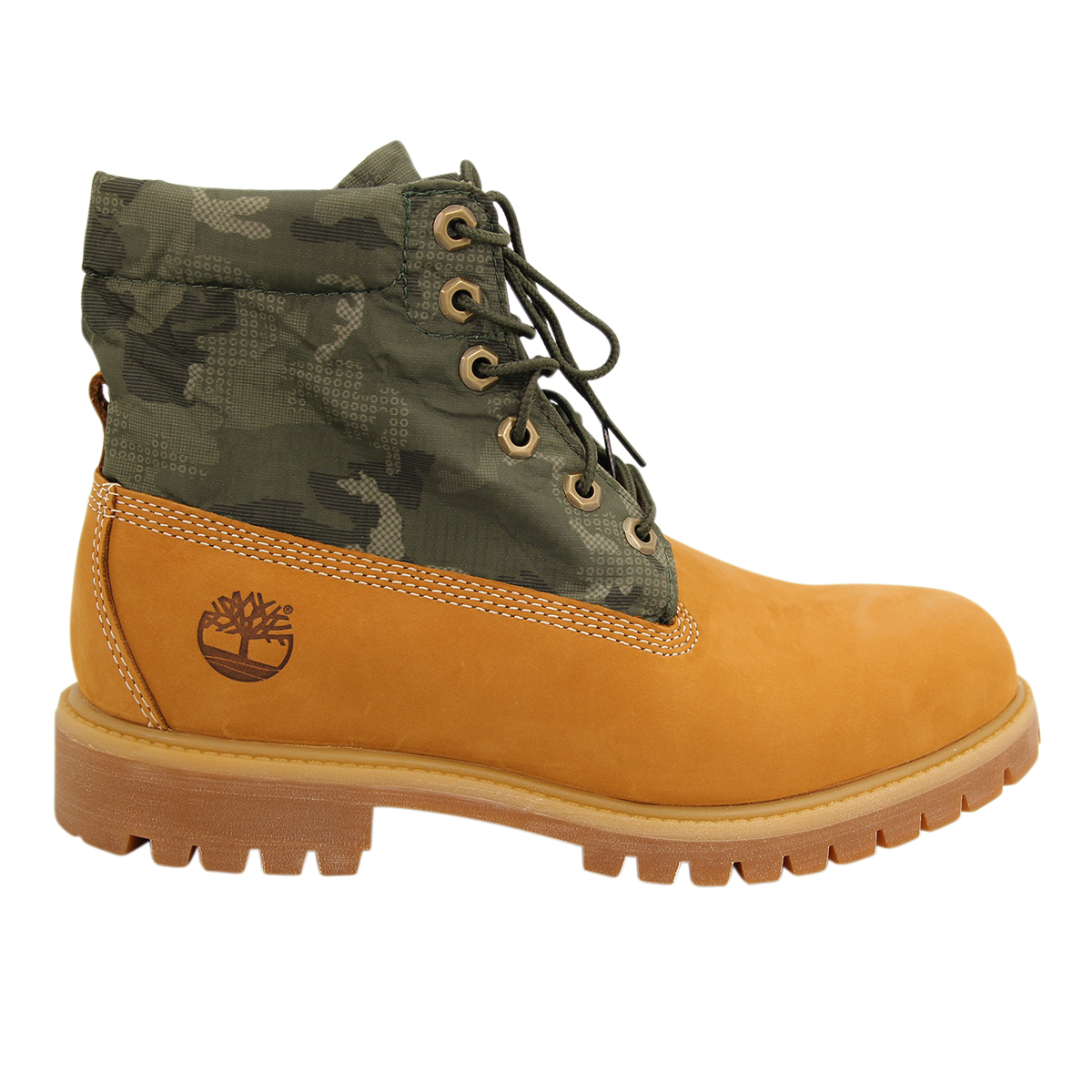 Timberland Roll Top Cuir Hommes Bottines Neuf