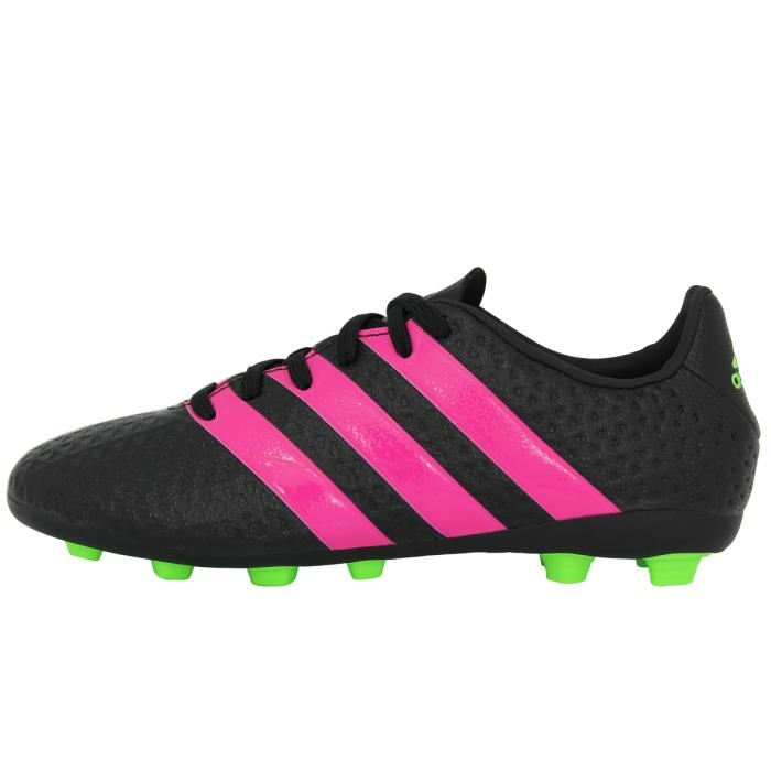 check out f4528 c7188 Adidas Performance ACE 16.4 FxG Chaussures Football Homme Noir Rose 2 2 sur  5 ...