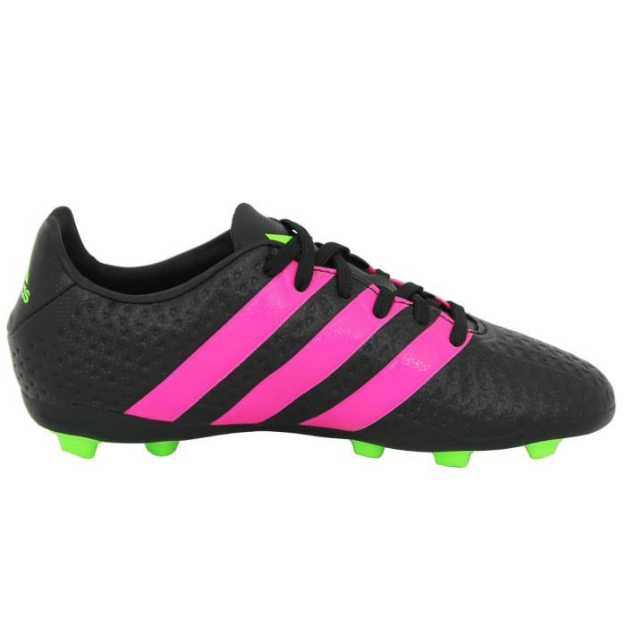 finest selection ba455 cb822 Adidas Performance ACE 16.4 FxG Chaussures Football Homme Noir Rose 3 3 sur  5 ...