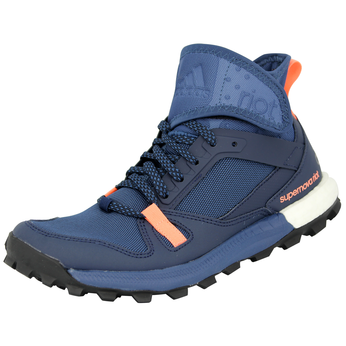 Adidas performance supernova Riot W Azul señora camino zapatos nuevo