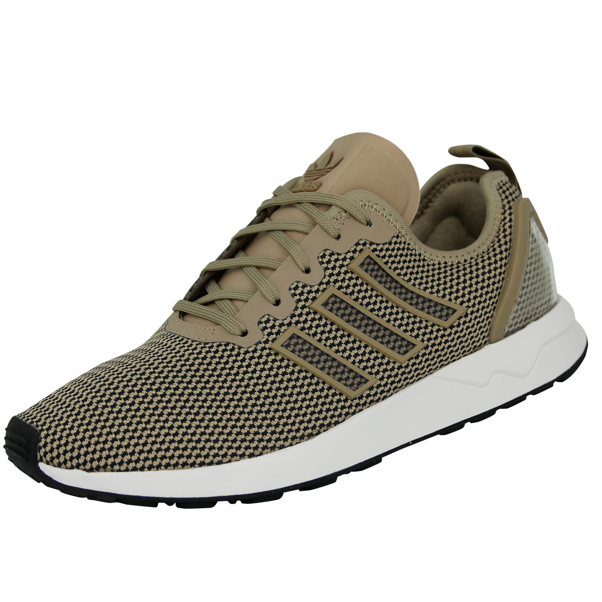 Adidas Originals ZX FLUX ADV shoes Fashion Sneakers Woman Brown