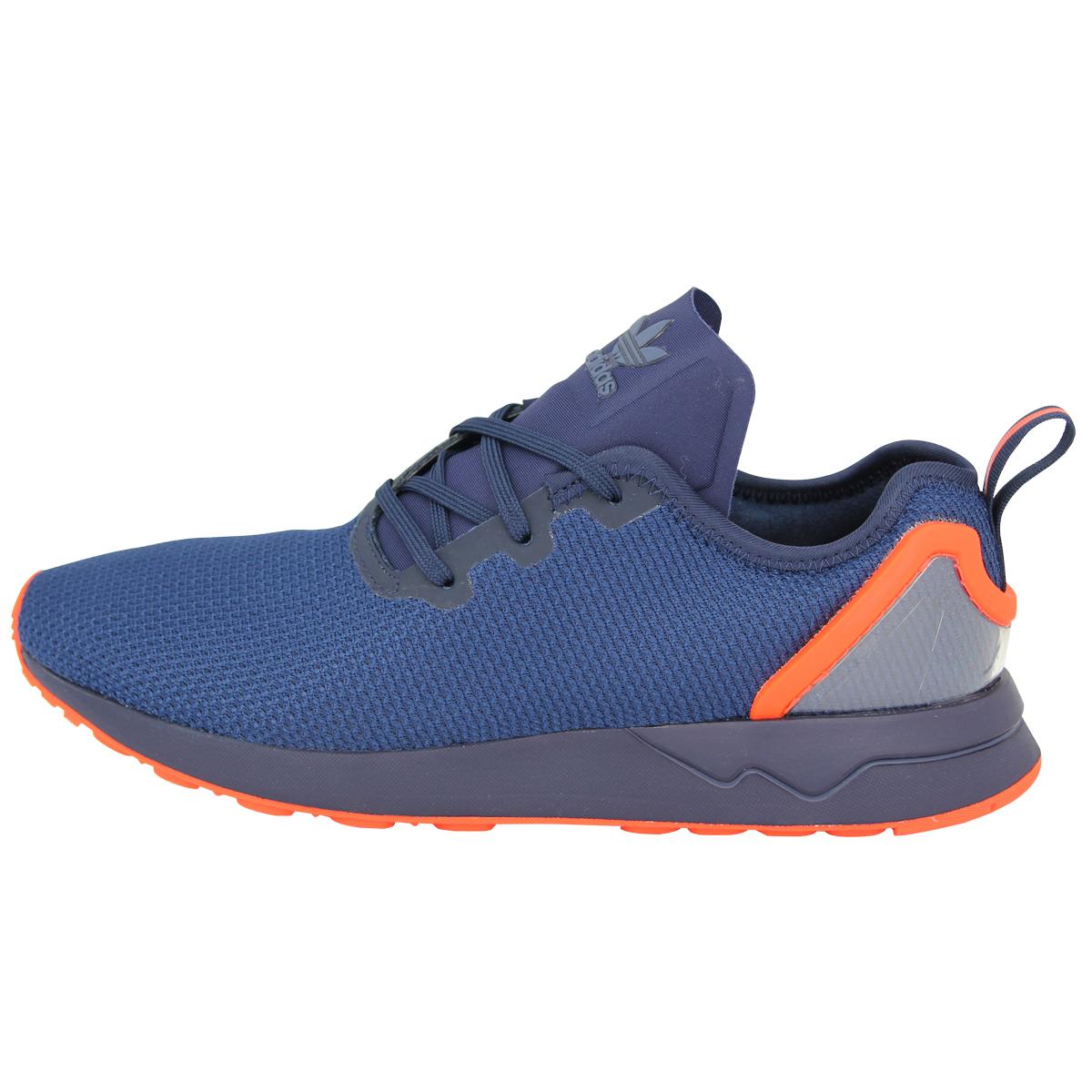 uk availability 5e50a 135d7 adidas Originals ZX FLUX ADV ASYMETRICAL Chaussures Mode Sneakers Homme Bleu  Ora 2 2 sur 6 ...