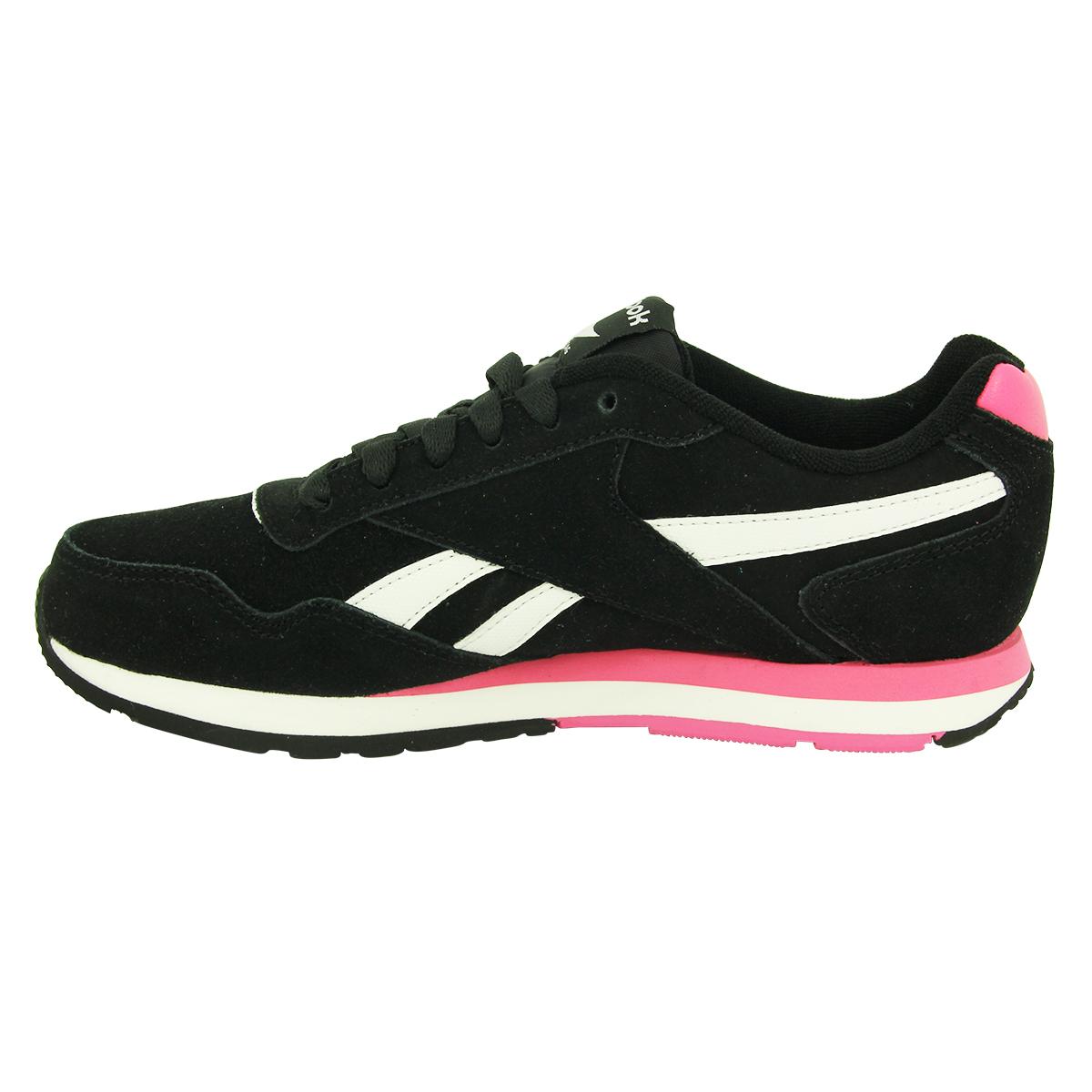 826cfef3eec68 Reebok REEBOK ROYAL GLIDE Chaussures Mode Sneakers Femme Cuir Suede 3 3 sur  6 ...
