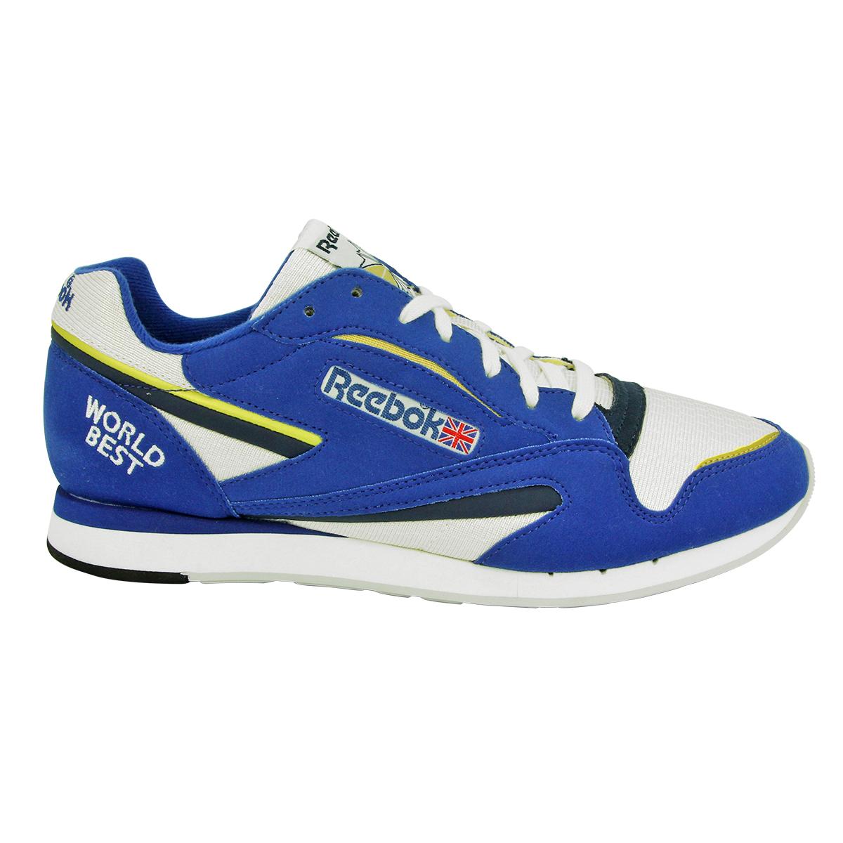 Reebok-WORLD-BEST-Chaussures-Mode-Sneakers-Homme-Cuir-Suede