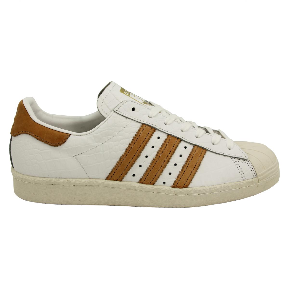 Das Bild wird geladen adidas-Originals-SUPERSTAR-80s-Leder-Herren-Sneakers- Schuhe- 0f06754144