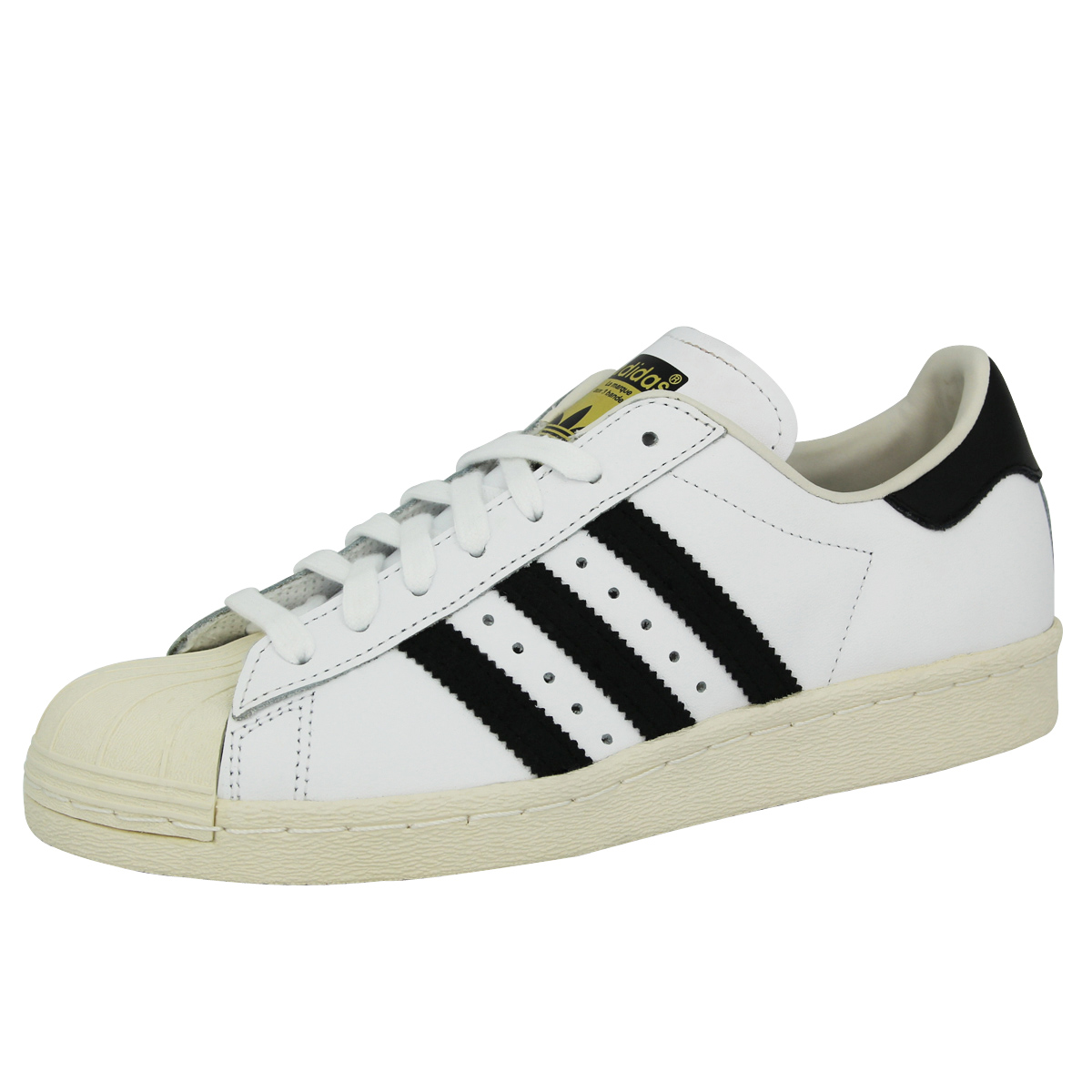 Adidas Originals SUPERSTAR 80S White Unisex Sneakers shoes