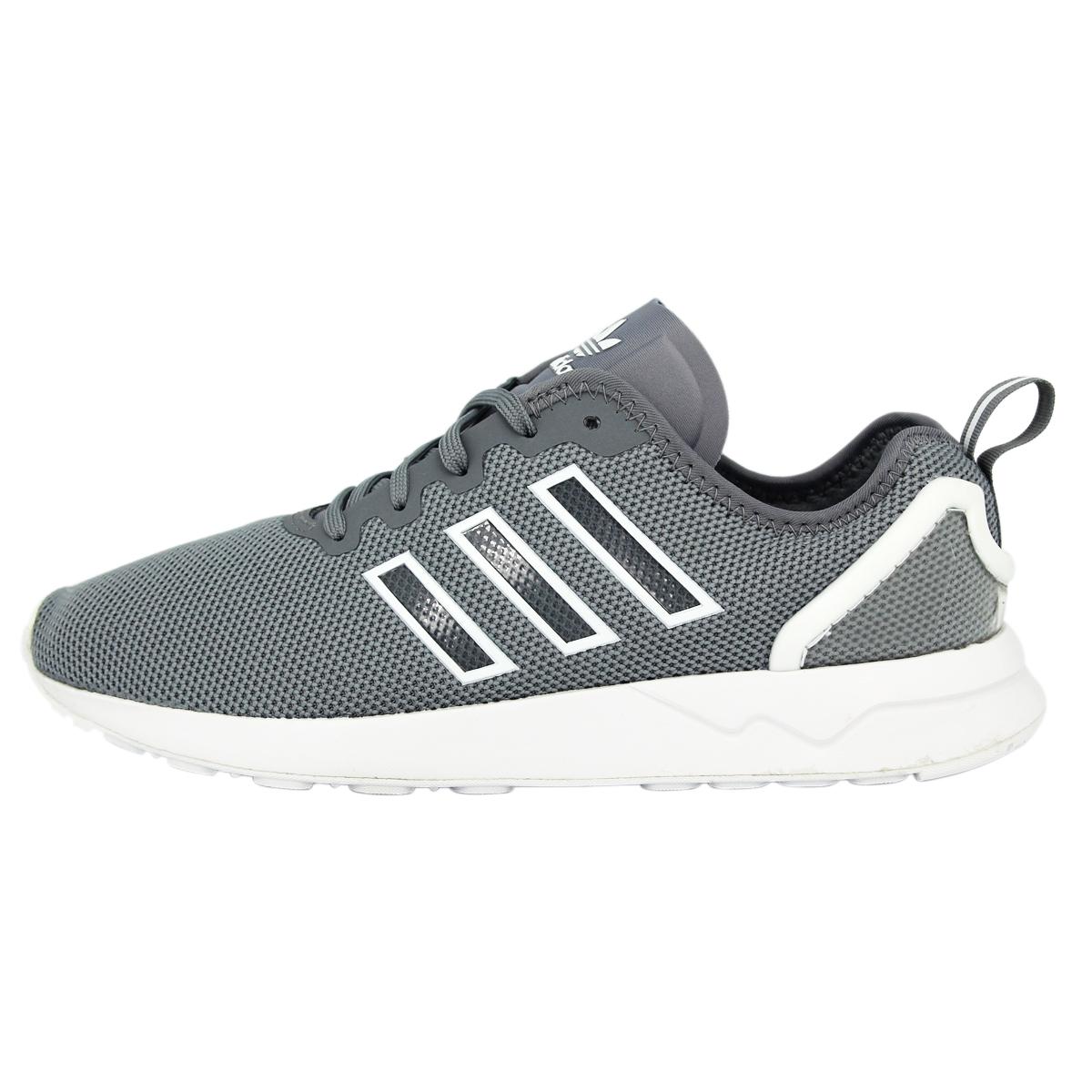 check out 93a89 73af7 Details about Adidas Originals ZX FLUX ADV Grey Men Sneakers Shoes
