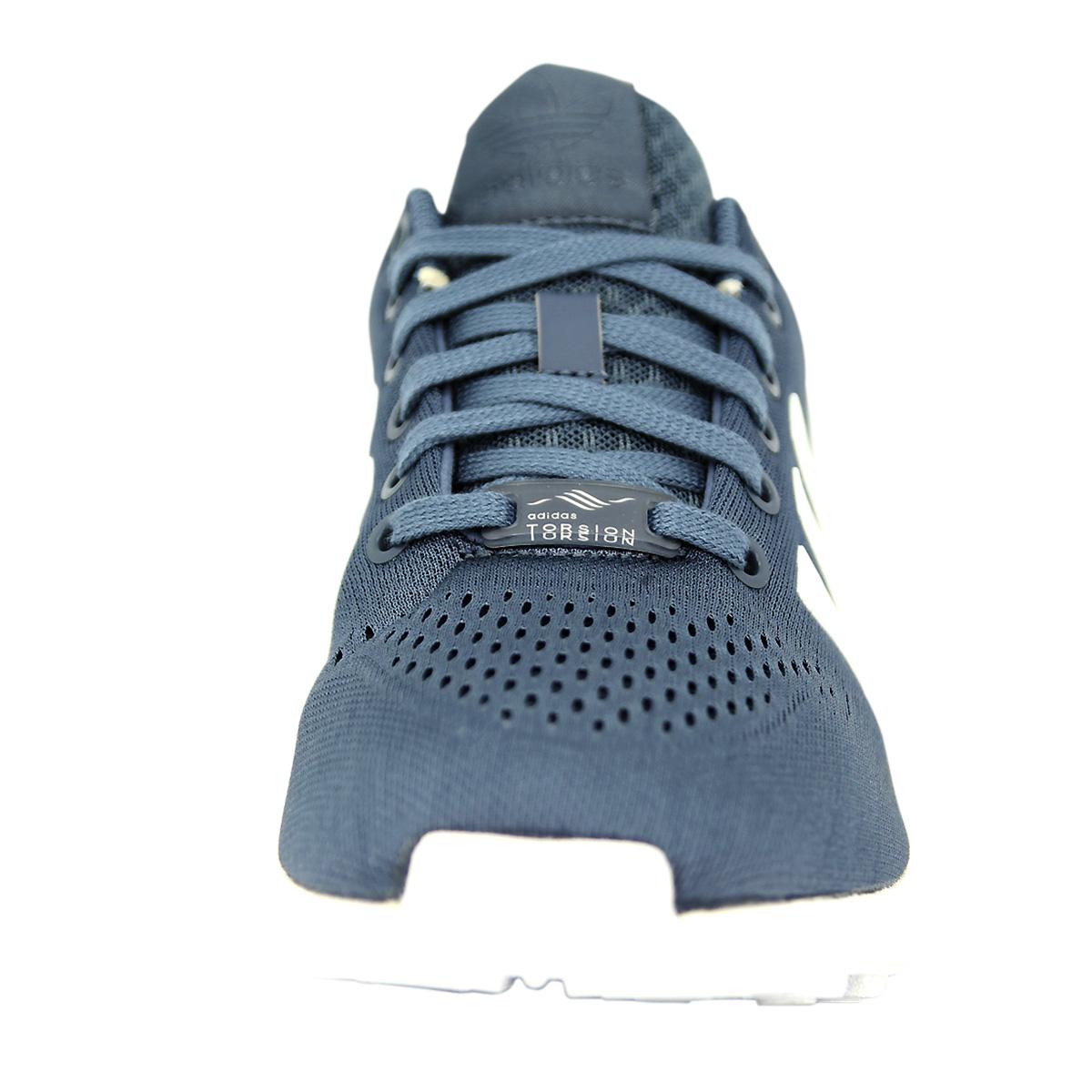 Adidas Originals EM ZX FLUX EM Originals Azul Hombres Tenis Zapatos fa1b83