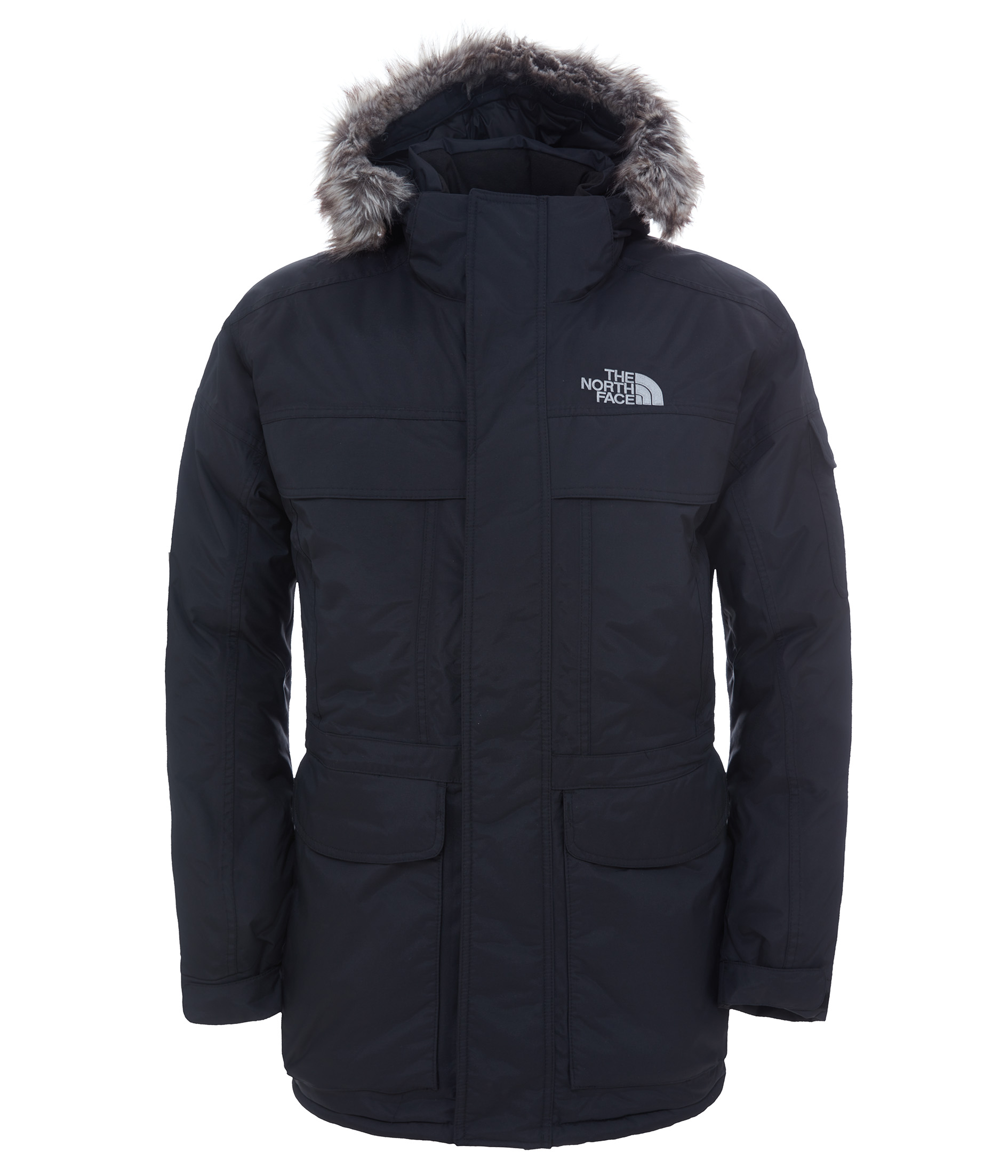 07ff4b0af The North Face McMurdo Parka Jacket Winter Outdoor Men's Black A8xzjk3 L